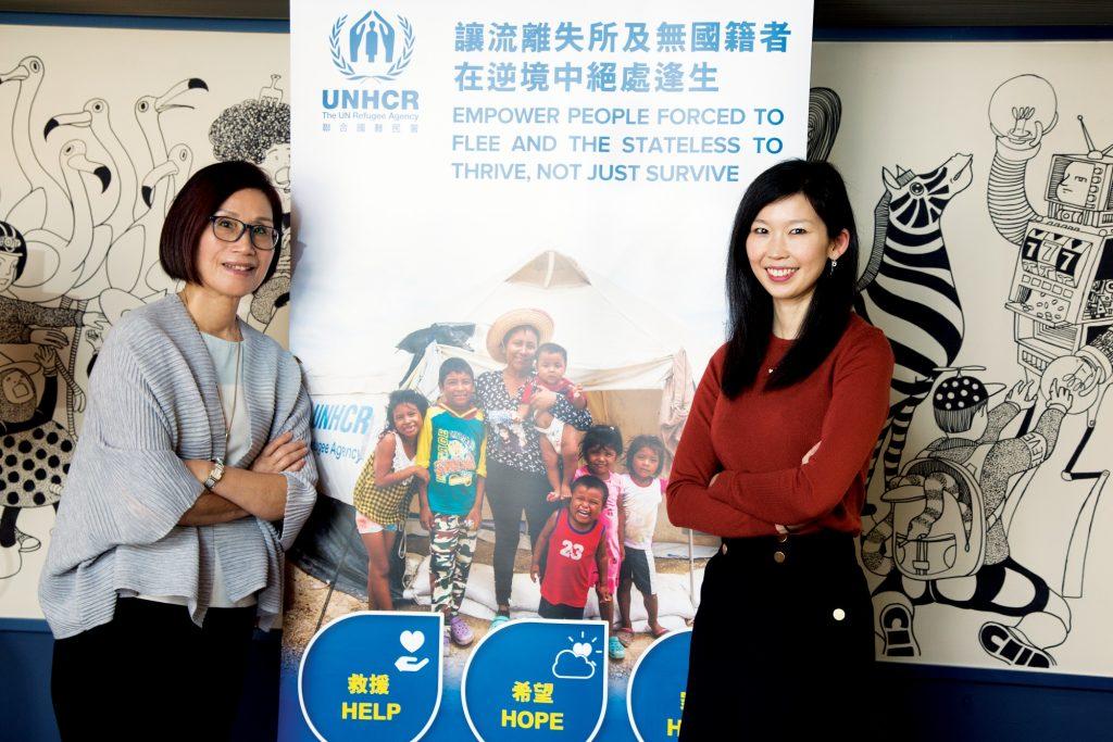 施陳佩霞, 施慧勤, 施永青太太, 聯合國難民署, UNHCR, 教育, 訪問, 傳承, 家庭教育,