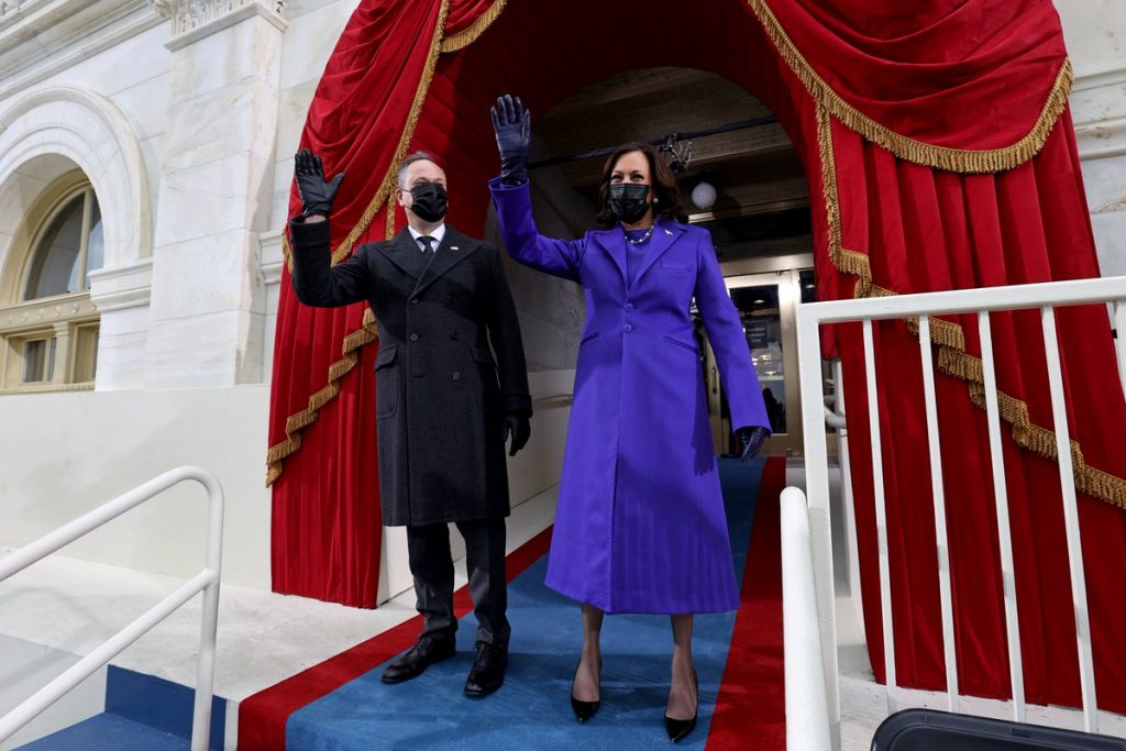 賀錦麗, Kamala Harris, 美國副總統, 女副總統,