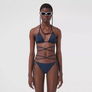 burberry monogram bikini
