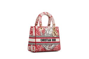 Dior Amour Book Tote Red
