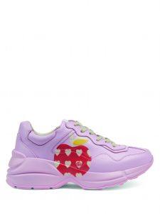 Gucci-Les-Pommes-Women-Rhyton-white-Sneakers